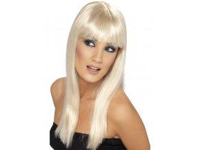 Dámská blond paruka GLAMOURAMA