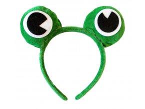 karneval čelenka žába