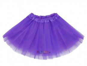 FIALOVÁ tutu sukně pro děti