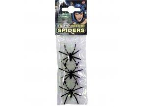 Svítící pavouci mix 6ks PARTYZON.cz