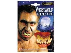 Gumové zuby tesáky halloween doplňky