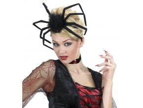 Čelenka s velkým pavoukem halloween