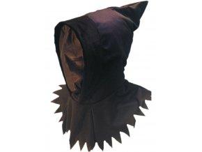 Černá kapuce Smrtka