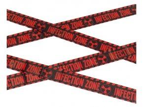 Halloween páska Zombie infection