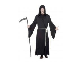 černý kostým Smrtka