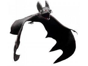 Dekorace gumový netopýr
