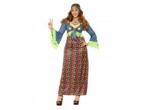 Dámský kostým hippie boubelky