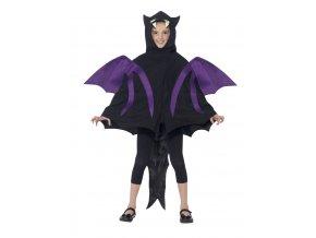 Dětský kostým netopýra s křídly