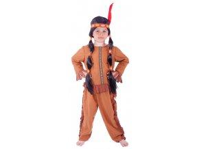 Indiánský kostým pro děti