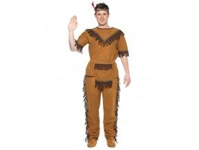 Pánský kostým indián dospělý partyzon
