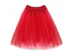 červená tutu sukně dospělý