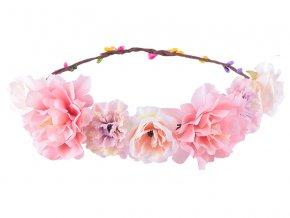 e7f9460be33 Květinové čelenky a věnečky do vlasů