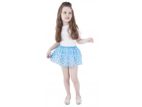 modrá tutu sukně pro děti levně