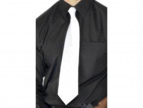 Bílá kravata 30.léta deluxe