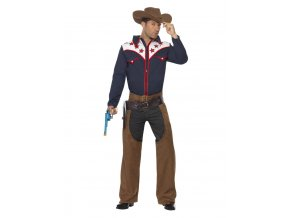 Pánský kostým kovboje dospělý karneval