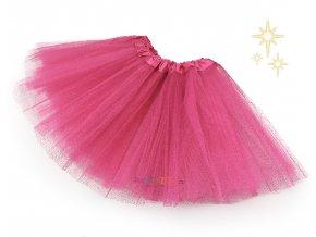 sukýnka tutu růžová partyzon