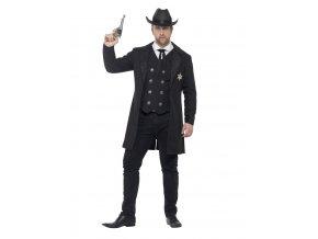 Pánský kostým šerif Western kovboj