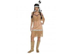 Kvalitní kostým indiánka dospělý