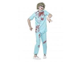Halloween kostým Zubař zombie strašidelný