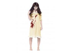 Hororový kostým šaty zombie panenka