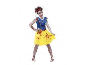 Strašidelný kostým zombie Sněhurka