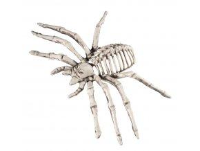 Dekorace kostra pavouka halloween výzdoba