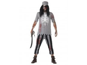 Pánský kostým Mrtvý pirát horor
