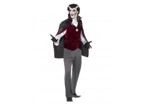 Pánský kostým upír dospělý halloween