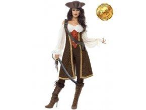 Dámský kostým pirát Kapitánka