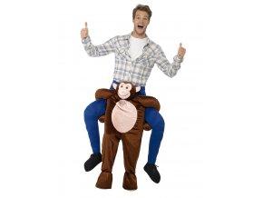 Kostým jezdec na opici (piggyback)