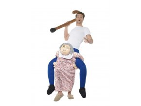 Vtipný kostým jezdec na babce