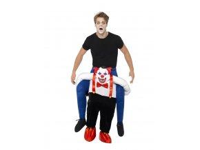 Kostým jezdec na klaunovi
