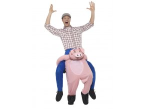 Kostým jezdec prase únosce piggyback