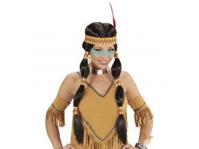 Indiánská paruka Sacajawea