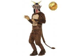 Kostým a maska čerta Krampus levně