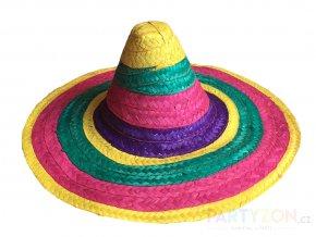 slaměné sombrero mexické levně