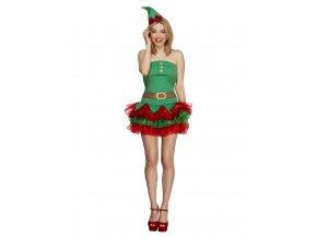 Dámský kostým Elf s tutu sukní