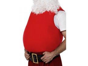 Vycpané břicho Santa Claus
