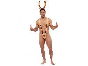 Boratky vánoční sob Rudolf