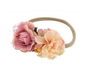 Květinové čelenky a věnečky do vlasů  6c40b6c264