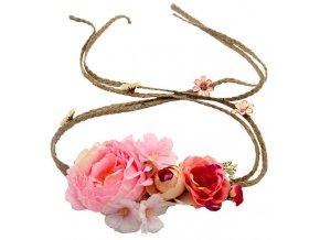 květinový věneček svatební