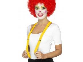 žluté kšandy levně karneval