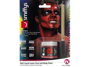 červená barva latex na tělo