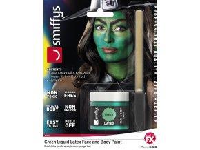 Zelená barva tekutý latex 60ml
