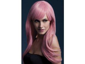 damska paruka růžová Sienna profesionalni kvalita