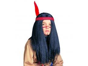 Dětská paruka Indiána