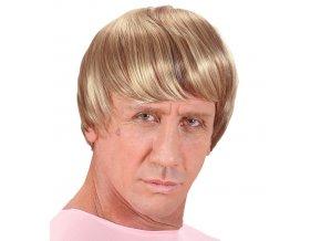 Pánská paruka blond Princ karneval