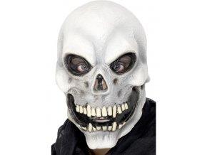 Gumová maska Lebkoun halloween