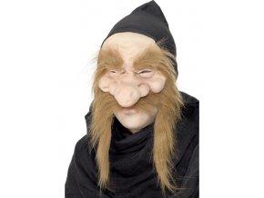 Maska s kapucí Zlatokop levně