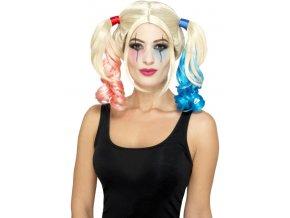 Paruka Harley Quinn levně